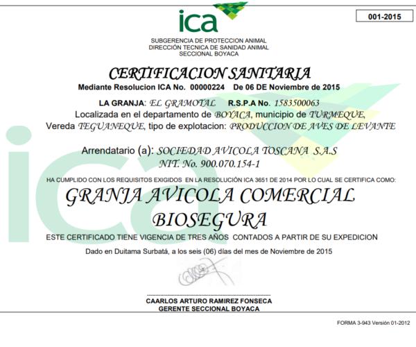 certificado GAB